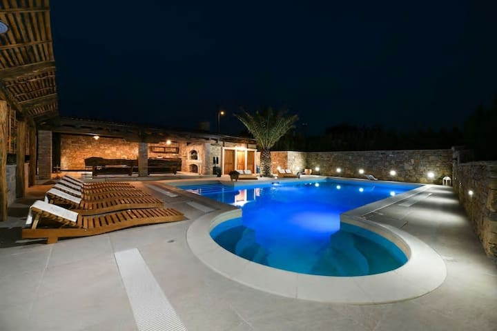 Luxury villa with private pool,wellness and jacuzzi. Full privacy !