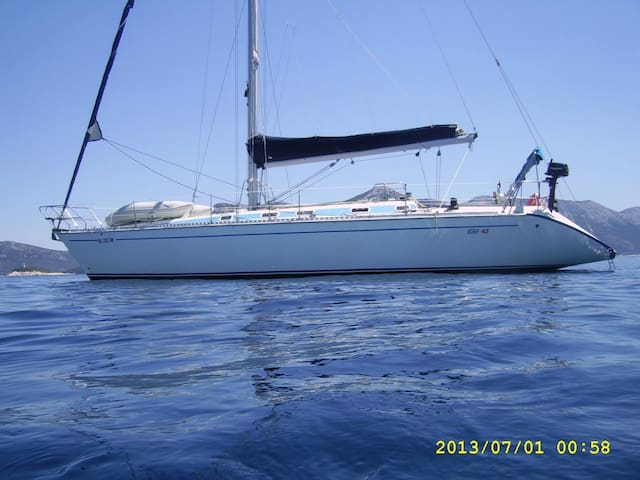 Sailing Boat in Greece - Plataria