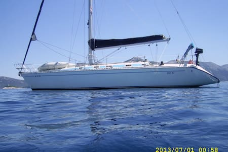 Sailing Boat in Greece - Plataria - Barco