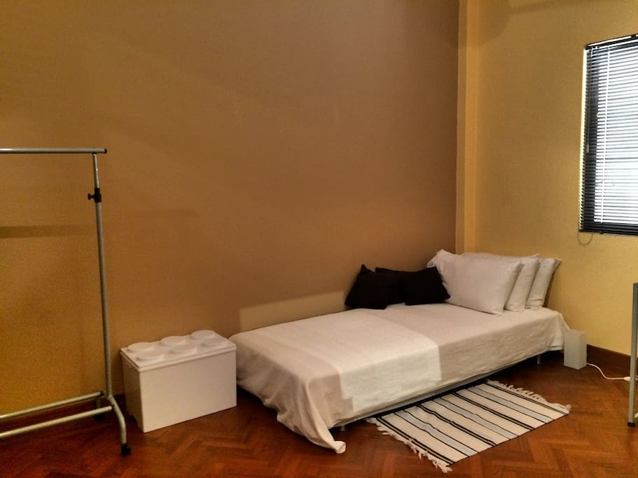Single comfortable bed