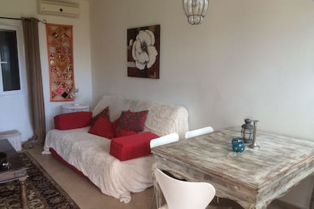 Luxury apartment with sea view - Nikiana - Appartement