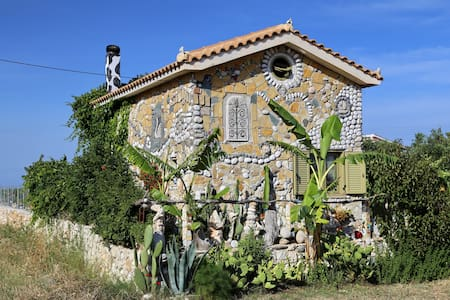 unique art house Fterionas in Skala - Skala