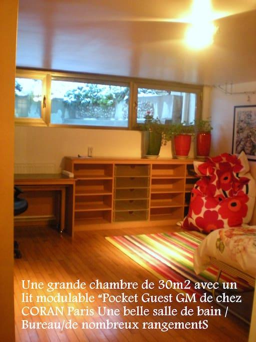 appartement bambou pour 2 pers appartements louer la celle saint cloud le de france. Black Bedroom Furniture Sets. Home Design Ideas