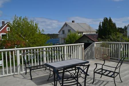 Idyllisk sommerhus på Bømlo - Rubbestadneset - Huis