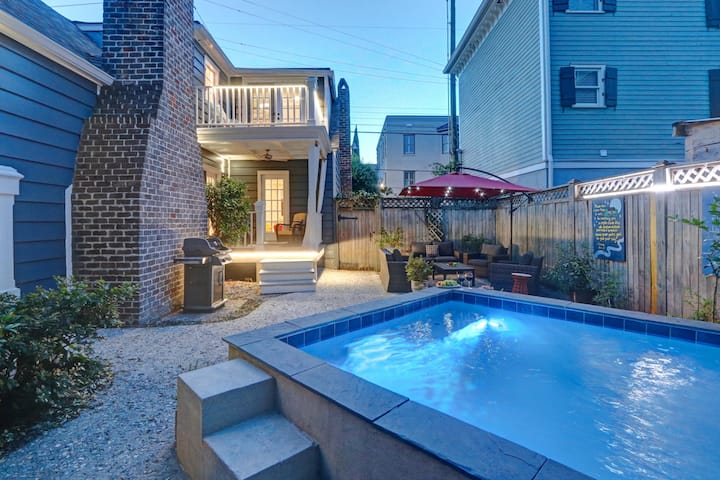 The Jewelbox: A Historic Savannah Cottage, Pool, & Parking