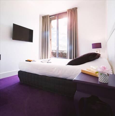 Chambre standard vue sur Seine, avec accès au spa, près de Giverny