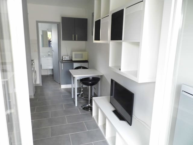 studio avec terrasse et jardinet - Nîmes - Apto. en complejo residencial