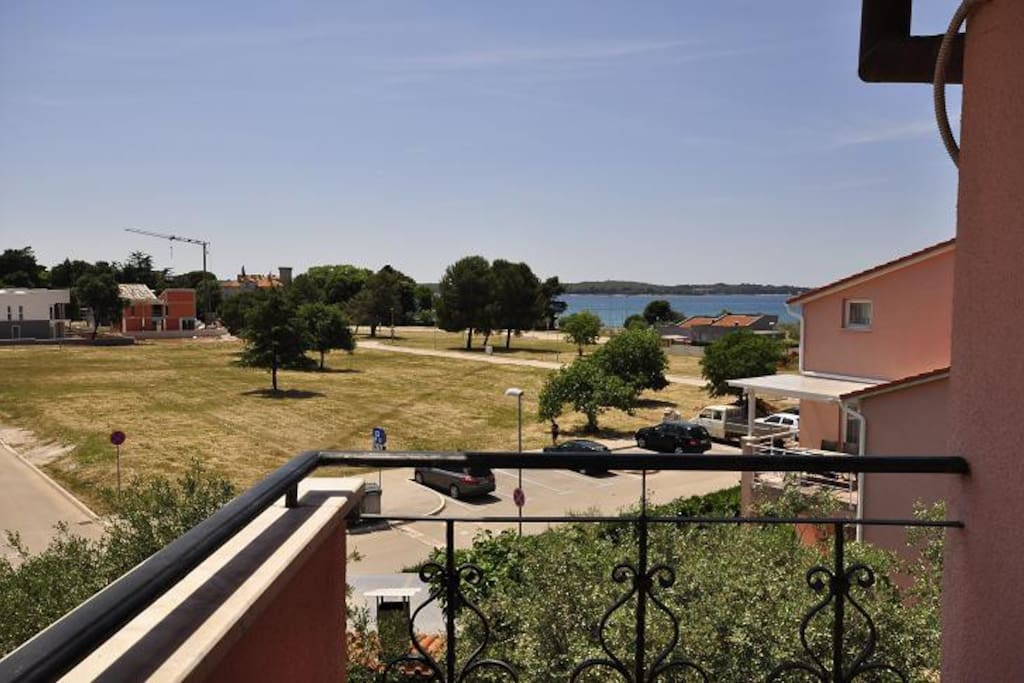 The view from the 2nd terrace