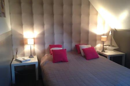 Une chambre zen et chaleureuse - Fouquières-lès-Béthune - 独立屋