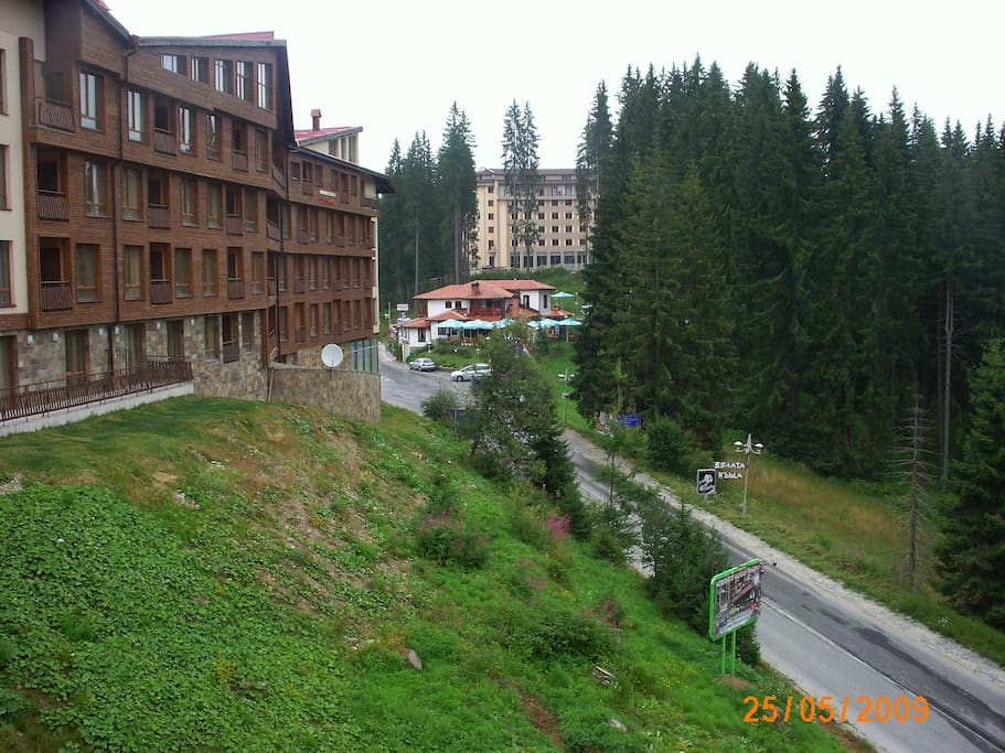 View from sitting room balcony