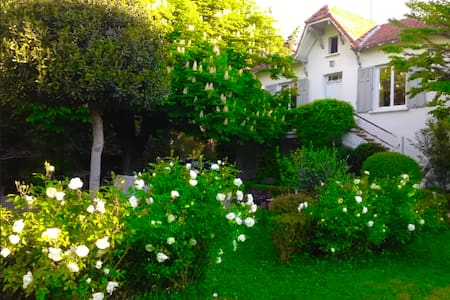 villa jardin spa proche avignon - Villeneuve-lès-Avignon