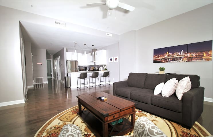 NEW Apartment in Heart of OTR with Gated Parking!