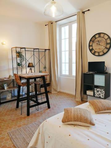 Studio charmant au cœur de L'isle-sur-la-Sorgue