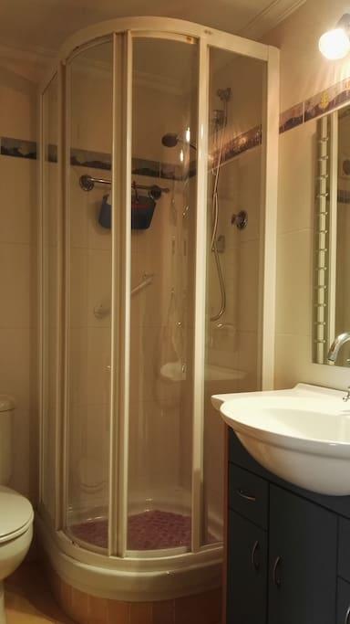 Cuarto de baño exclusivo para habitación individual