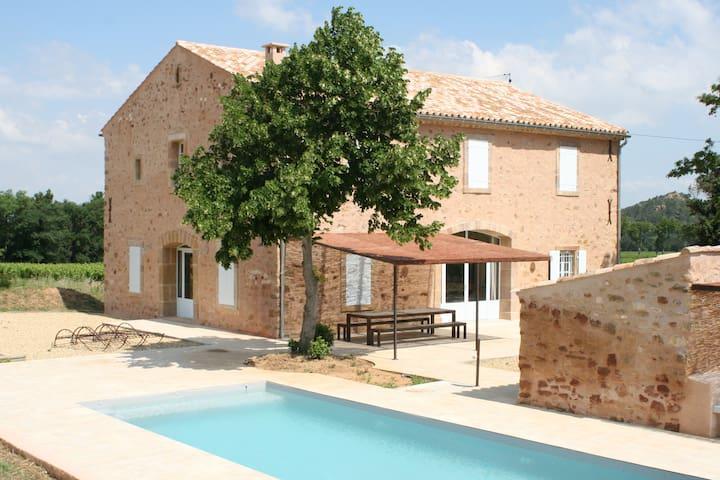 La Maison dans les Vignes - Bizanet - Casa