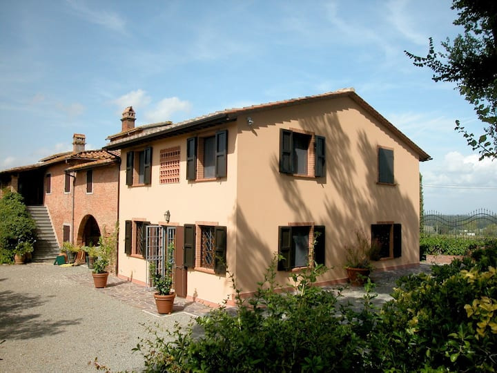 Casa Belvedere -Tuscan farmhouse with private pool