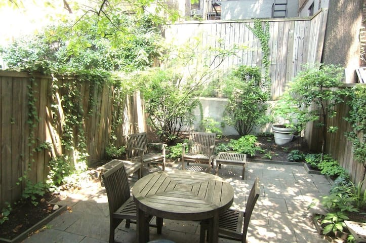 UWS Luxury Garden - Private outdoor space