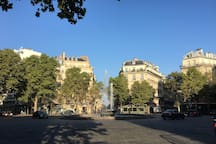 Place Victor Hugo - Paris