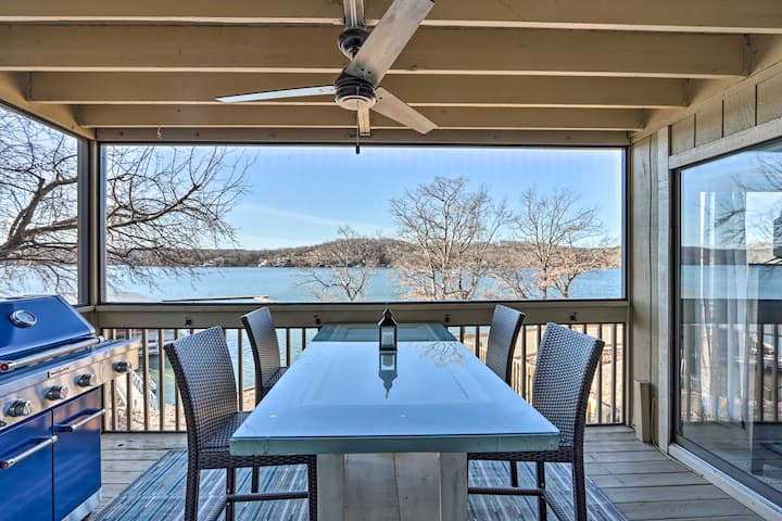 NEW! Lake of the Ozarks Condo w/ Resort Amenities!