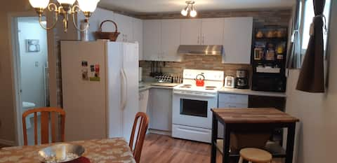 Aseptic family home 30 mins from Montreal
