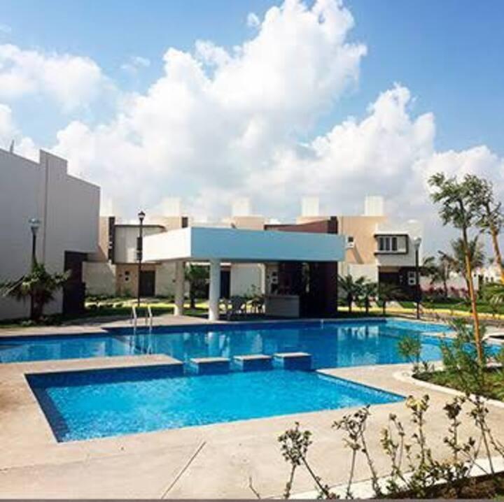 Casa en Fraccionamiento Dream Lagoons Veracruz