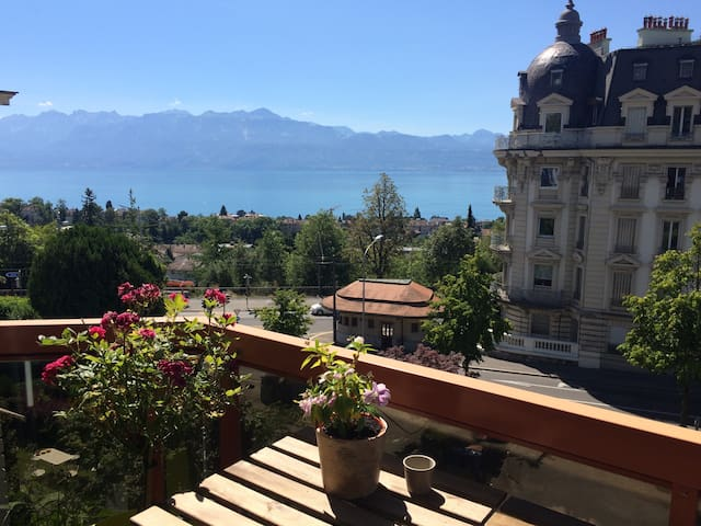 Guest Room in city Lausanne - Losanna - Appartamento