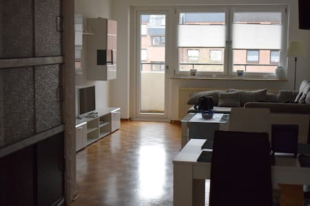 Gemütliche 3 Zimmer Wohnung, WiFi, Balkon