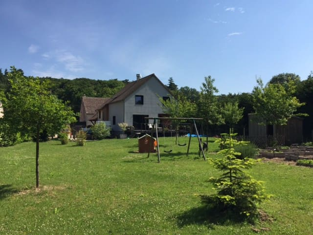 Large wood house 1 hour from Paris - Chaudon - Hus