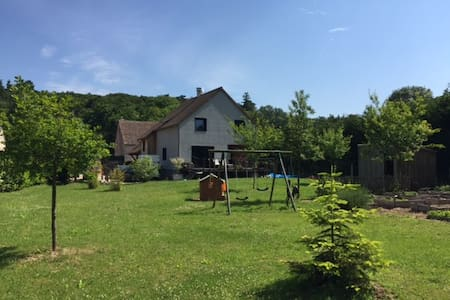 Large wood house 1 hour from Paris - House