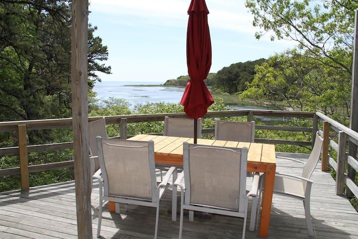 Quiet & Secluded Beautiful Bay View - Wellfleet - Casa