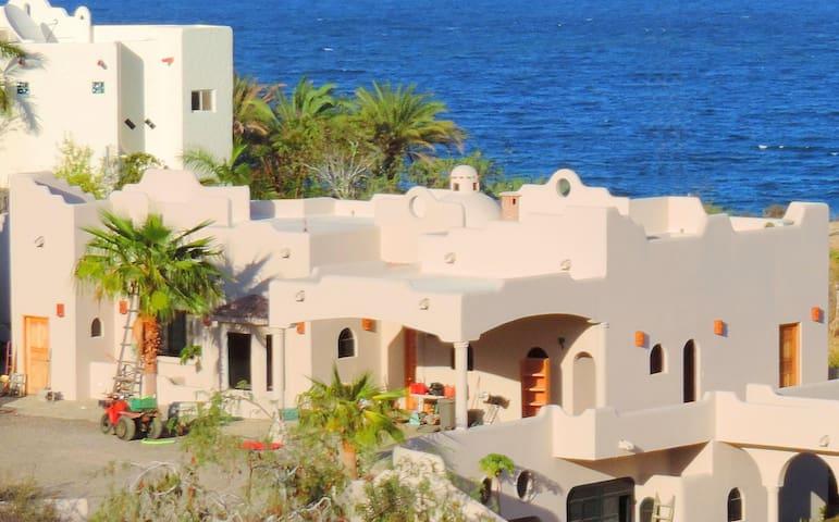 Casa Turtle Cove, Amazing Ocean Views, Near Beach - Los Barriles - House
