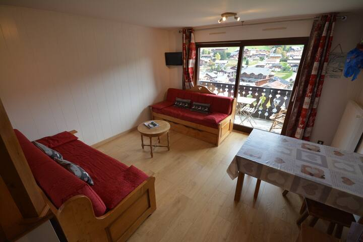 Arc en ciel- 4People- Lovely view for this studio with sleeping area