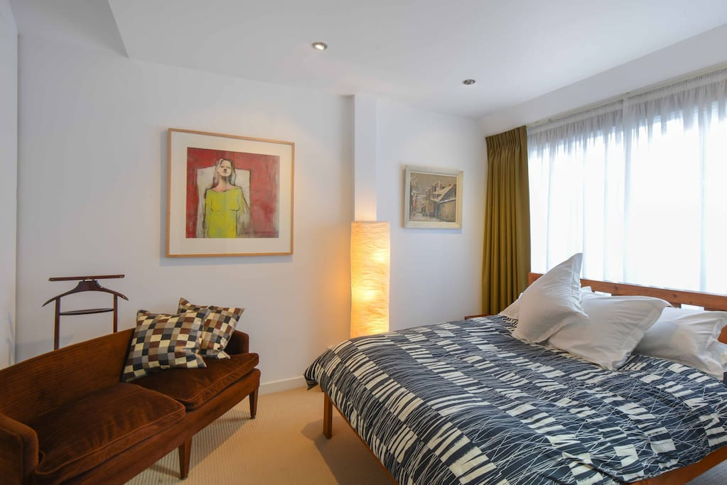 Main bedroom, with north facing light