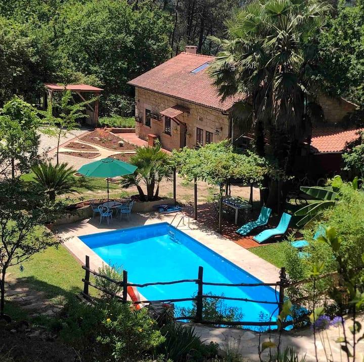 Peaceful Country Retreat in Southern Rías Baixas