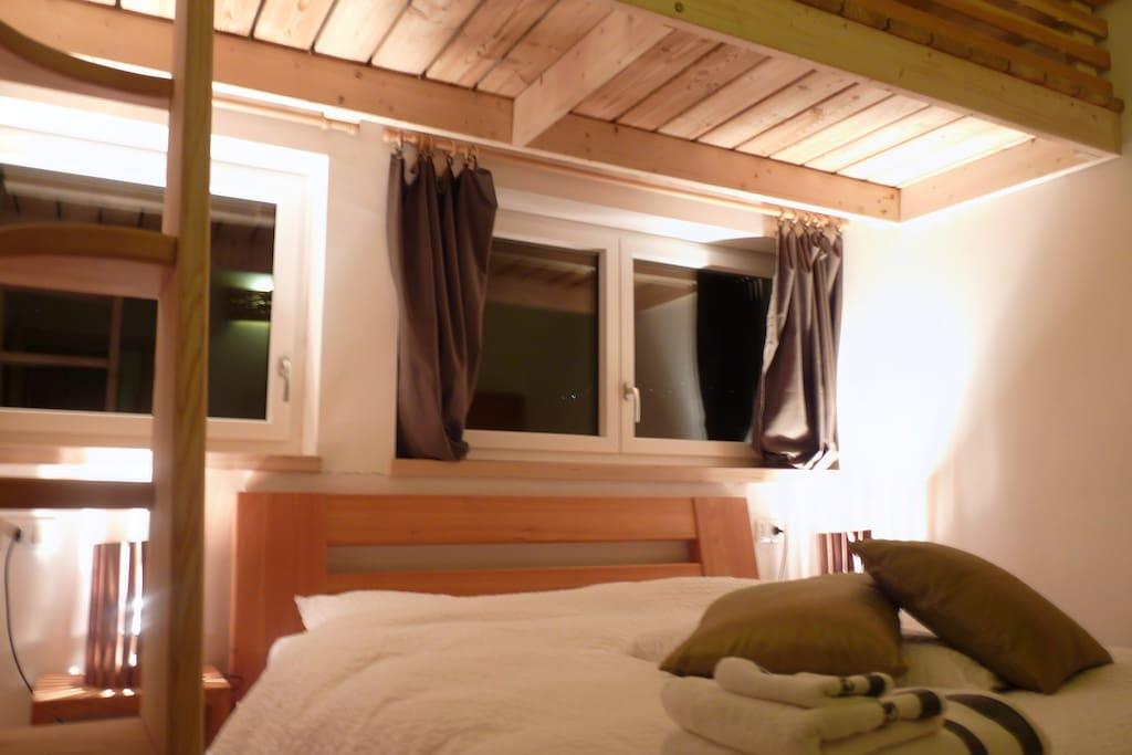 Casa sul lago vacanza naturale appartements louer for Piccoli piani casa sul lago con soppalco