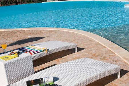 Luxueux Appart +Piscines + Fitness - Ouahat Sidi Brahim