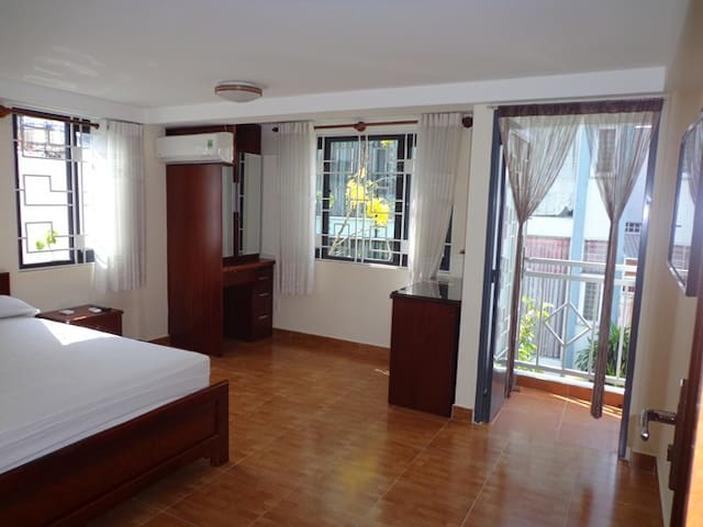 Srviced apartment in a fresh garden with 1 bedroom - Ho Chi Minh - Huoneisto