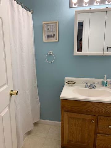 Bathroom showing Shower