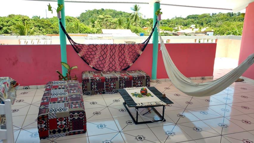 Quarto privado com cama grande - Itacaré - Hostal