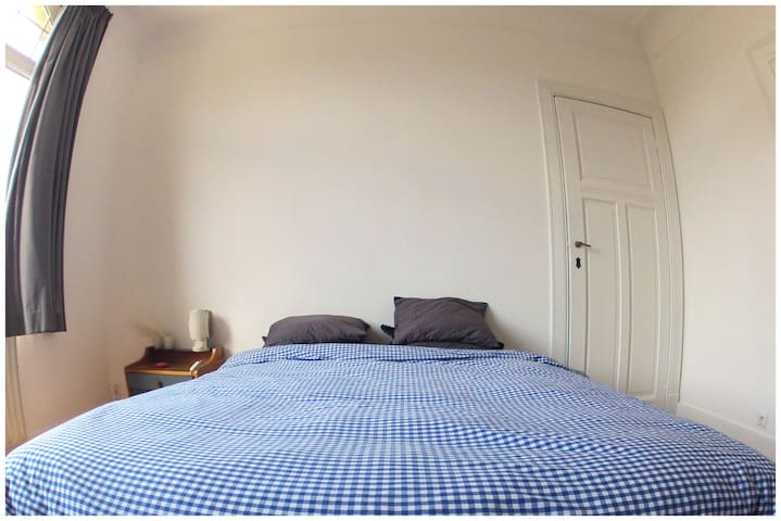 Appartement lumineux 80m2 (1ch) UE - Schaerbeek - Apartment