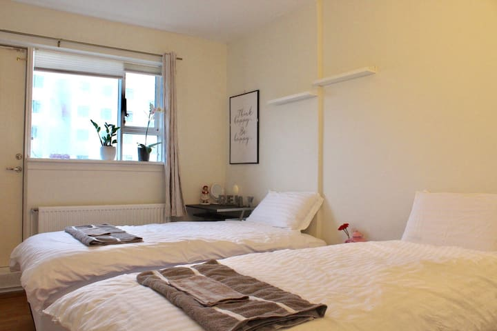 2 Beds-Close Rekjavik Park & Pool - Reykjavik - Appartamento