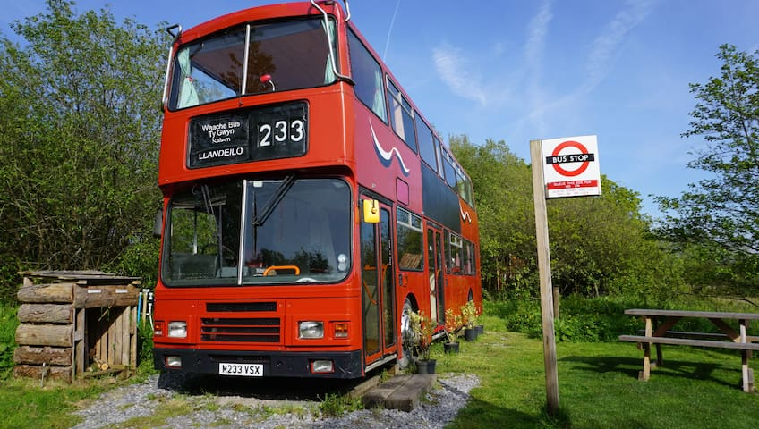 Weache Bus in 22 Acre Private Nature Reserve