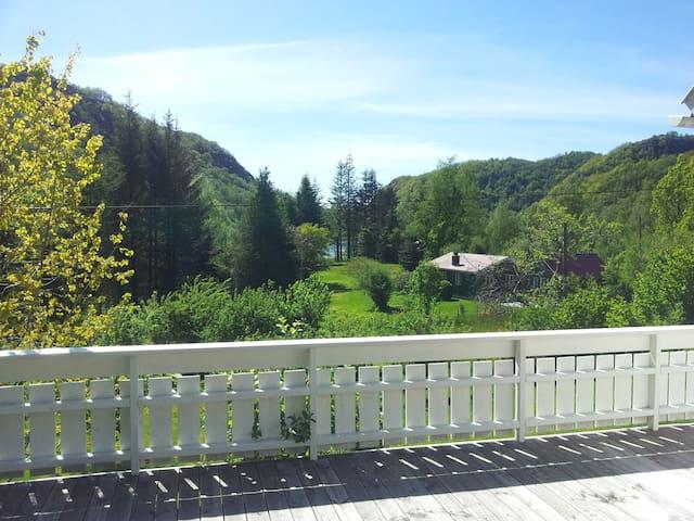 Utsikt terrasse