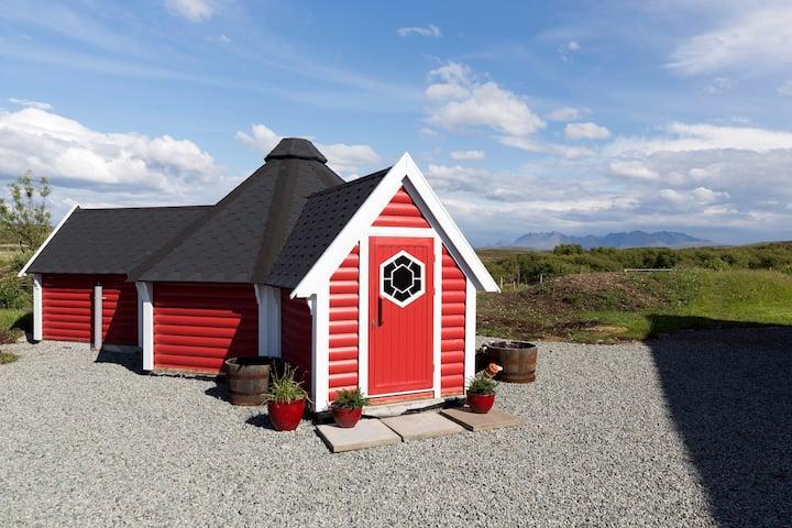 Foxwood Cabin (Hobbit house)