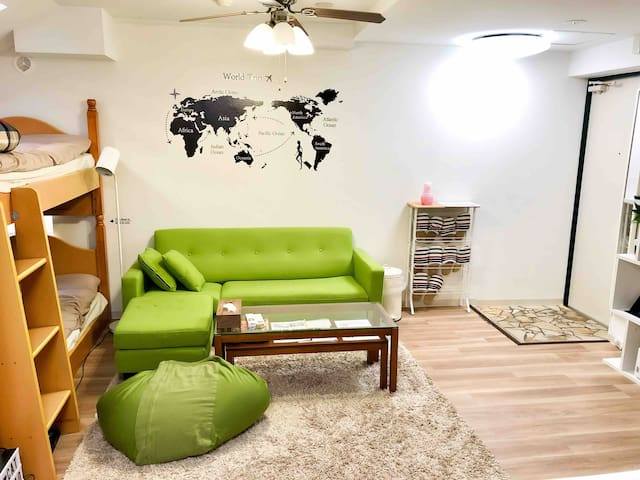 Global Life 501=3min walk from JR Station in Tokyo