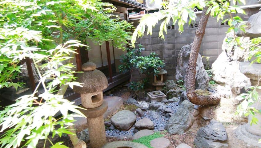 Near JR stations & Kyoto citybus stop! Tatami room