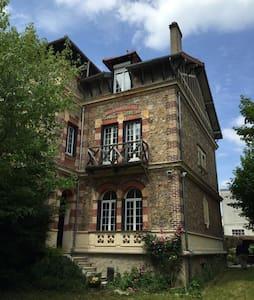 Superbe maison en bord de Seine - Ablon-sur-Seine - Talo