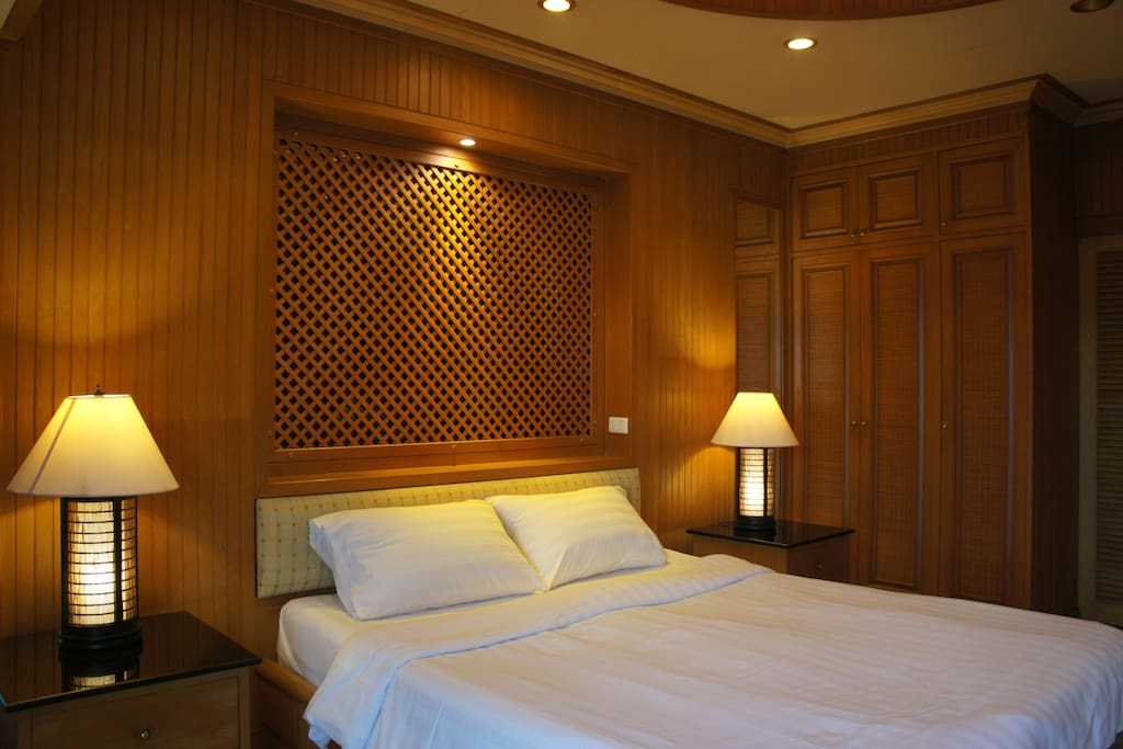 Bedroom One with a sumptuous King Size Bed!