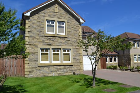 5 Bd House near St Andrews The Open - Glenrothes - Hus