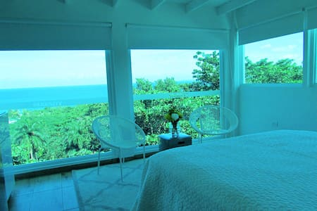 Single Bed Beautiful Ocean View Suite - Aguada - Apartament